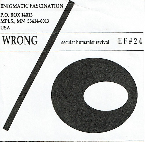Wrong: Secular Humanist Revival