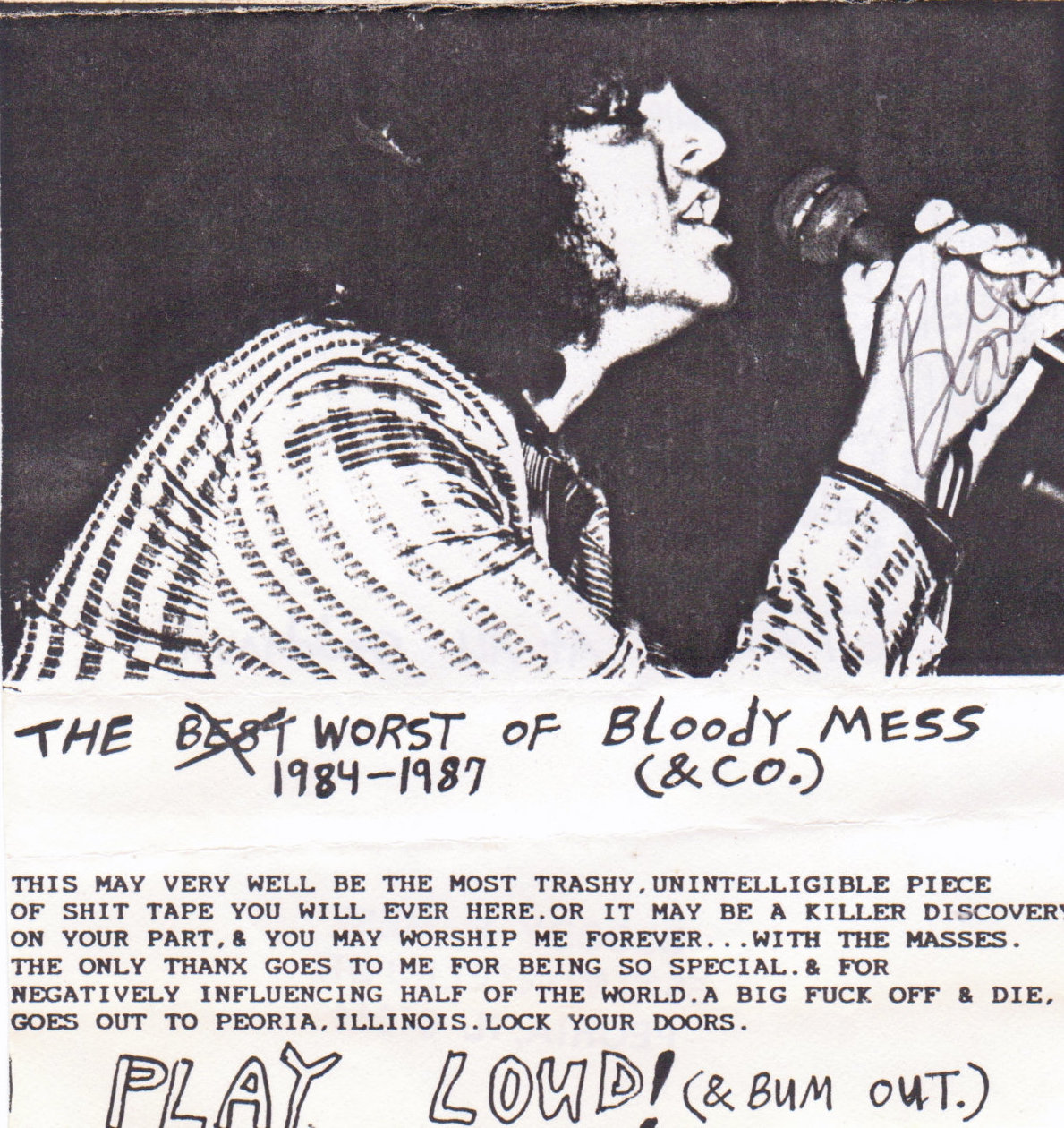 The Worst of Bloody Mess (& Co.) 1984-1987